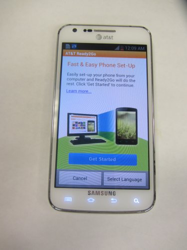 Samsung Galaxy S2 Skyrocket I727 16GB Unlocked GSM 4G LTE Smartphone w/ 8MP Camera - White