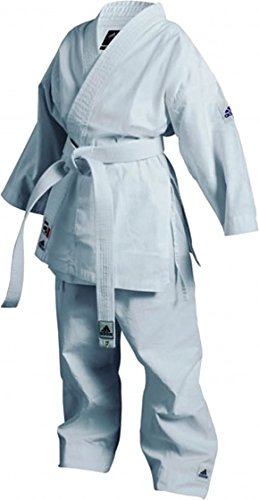 Adidas Karaté K200Junior Blanc Taille 100–110cm