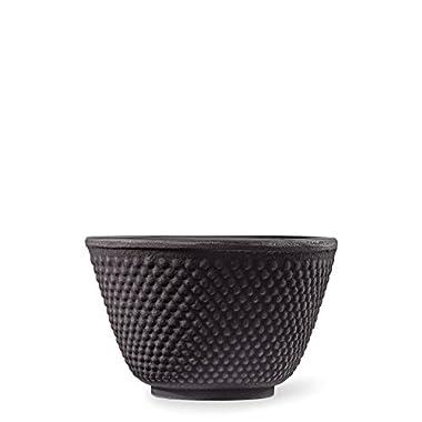 Hobnail Black Cast Iron Tea Cup by Teavana