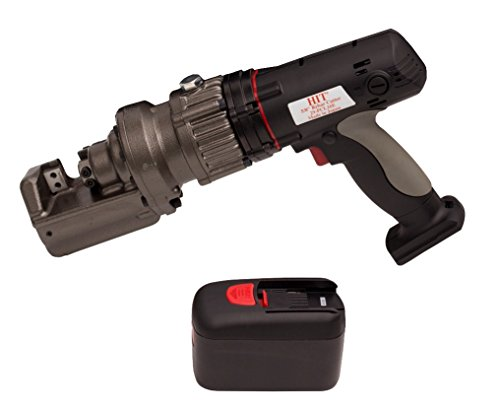 18v Cordless Rebar Cutter - HIT Tools 29-PCL16E-3 Cordless Electric Rebar Cutter with 18V Lithium Ion Battery, 5/8