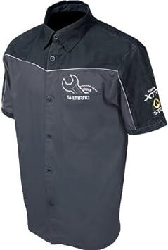 SHIMANO Camisa mecanica Techlab Negra/Gris L: Amazon.es: Deportes ...