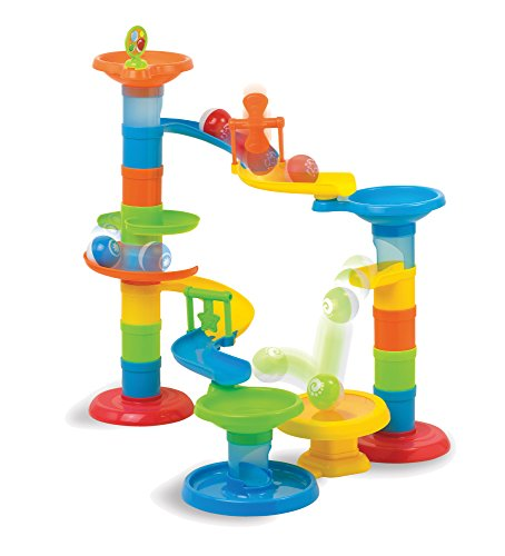 Fat Brain Toys Roll & Bounce Tower Baby Toys & Gifts for Ages 1 to 3 -