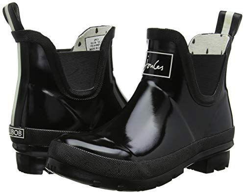 Gomma Gomma Wellibob Stivali Nero Nero Nero Black di Joules Gloss Black Donna pIq44U7