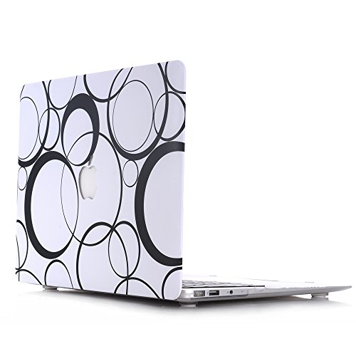 (New Laptop Macbook Hard Case, HQF Patterns Shell Case Cover 13-inch Laptop Hard Case [with FREE keyboard Cover] for MacBook Pro 13.3