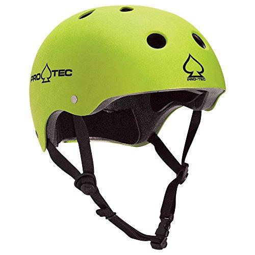 PROTEC Original Pro-tec Classic Satin Skateborad Helmet, Citrus, X-Large