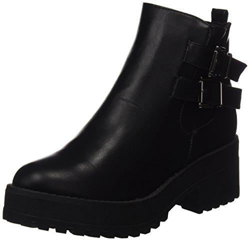 Bashita Women's Black Nbk Black Ankle Boots COOLWAY 5pIwxfx