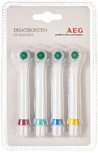 AEG EZ 5623 kartáčky 4 Stück Aufsteckbürsten für elektrische Zahnbürste, weiß