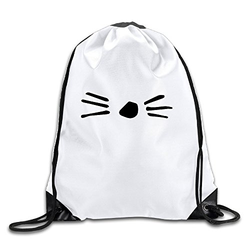 BYDHX Dan And Phil Cat Whiskers Logo Drawstring Backpack Bag - Sydney Dior