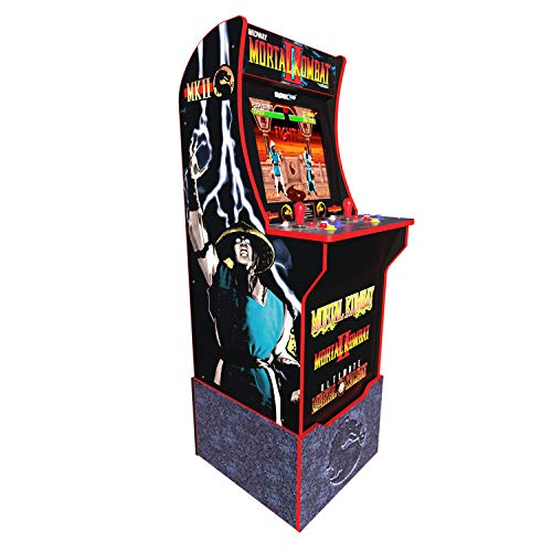 Arcade 1Up Mortal Kombat at-Home Arcade System with Custom Riser (Arcade Machine Mortal Kombat)