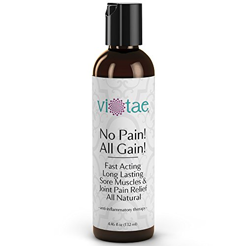 Pain Relief Sports Balm Fast Acting Deep Penetrating Long Lasting Sore Muscle & Joint Pain Management All Natural - No Pain All Gain