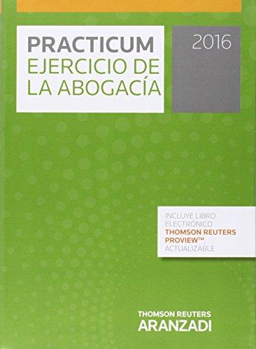 Descargar Libro Practicum Ejercicio Abogacia 2016 Alberto Palomar Olmeda