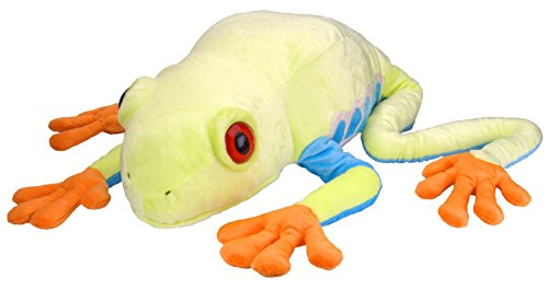 Wild Republic Jumbo Tree Frog Plush, Giant Stuffed Animal, Plush Toy, Gifts for Kids, 30 Inches