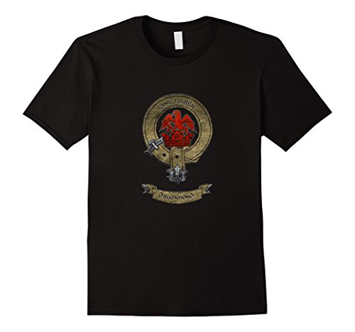 Men's Clan Drummond | Scottish Pride Family Coat of Arms T-shirt Large (Drummond Clan Shop)