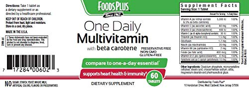 Food Plus Daily-Vitamins with Beta Carotene by Foods Plus (Image #2)