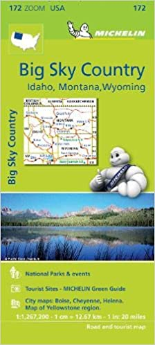 Big Sky Country - Zoom Map 172 (Michelin Zoom Maps): 9782067190801 Zoom Map Of Montana on zoom map of texas, atlas of montana, zoom in map, zoom map of united states,