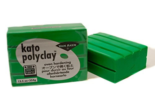 Kato Polyclay Green 12.5 Oz