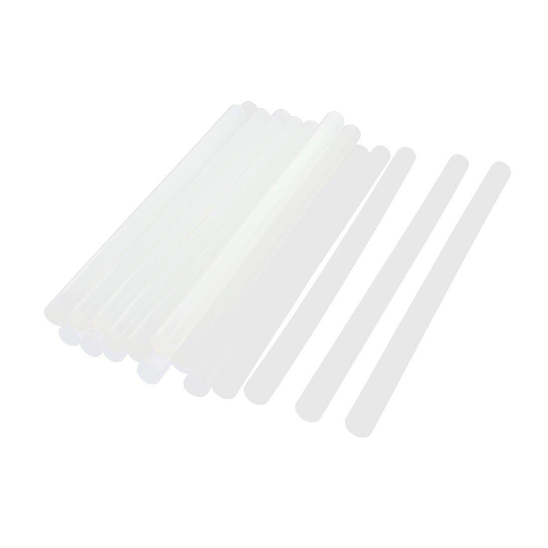 20/pcs 11/x 200/mm Hot Melt Glue adh/ésif b/âton Blanc transparent pour travaux manuels