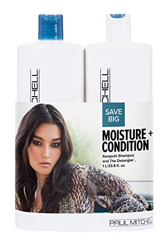 Paul Mitchell Moisture And Condition Original Liter Duo Set