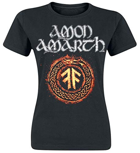 Amon Of Manches Pursuit Noir Courtes shirt T Vikings The Amarth rZWtEqwUr