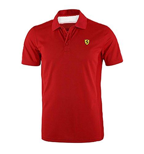 Polo Sport zweifarbige Mann Scuderia Ferrari