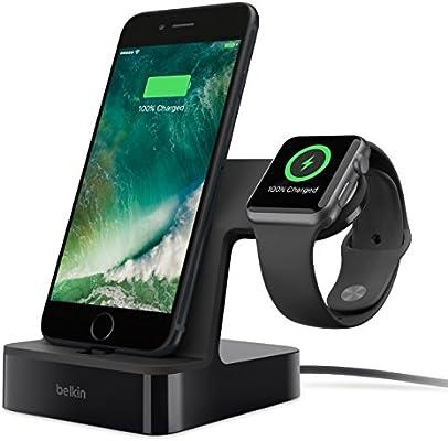 Belkin F8J200ttBLK Smartwatch/Smartphone estación Dock para móvil ...