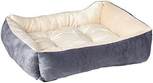 HappyCare Textiles - Cama Rectangular para Perros y Mascotas