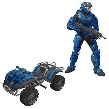 McFarlane Halo Reach Serie 5 Mangosta Con Spartan EOD: Amazon.es: Juguetes y juegos