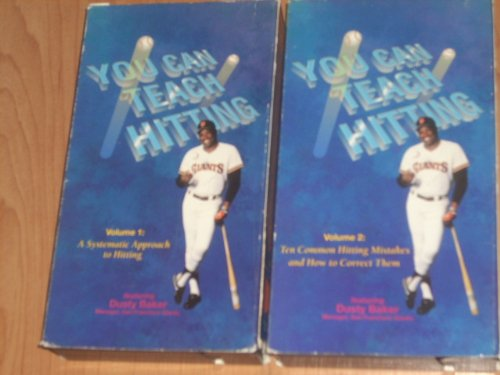 You Can Teach Hitting - Vol. 1: A Systematic Approach To Hitting [VHS] ()