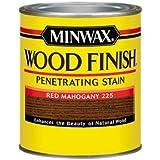 Minwax 70007444 Wood Finish Penetrating  Stain, quart, Red Mahogany