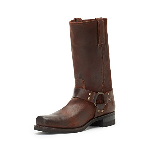 FRYE Men's 12r Harness Boot, Brown, 9.5 D US (Frye Harness Boots)