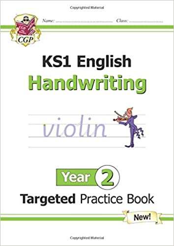 New KS1 English Targeted Practice Book: Handwriting - Year 2
