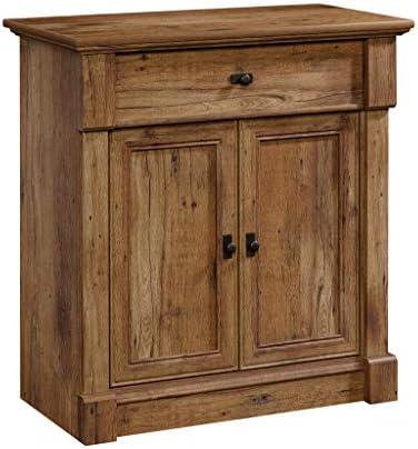 Sauder Palladia Entryway Storage, L 34.45 x W 18.35 x H 35.98 , Vintage Oak