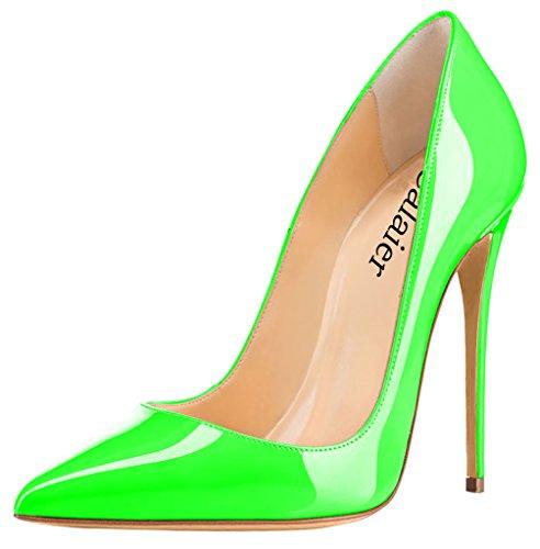 Cahen verde donna D Scarpe col tacco Calaier dqX0470