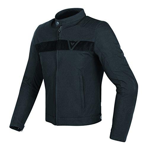 Dainese Stripes (Dainese Stripes Textile Mens Motorcycle Jacket Black/Black 50 Euro/40 USA)