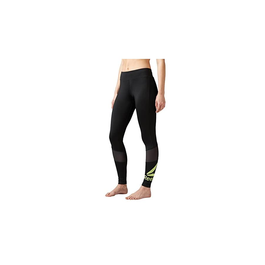 Reebok Women's Workout Ready Big Logo Tights