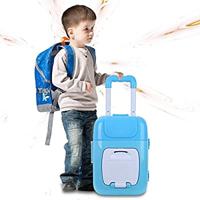 Wotryit Kids Doctor Kit Toy Medical Kits Pretend-n-2 in 1 Pretend Play-Doctor Kit for Kids with Handy Trolley Suitcase for Kids, School Classroom, Easter Stuf: Clothing