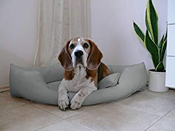 Artur Soja Gabi Perros Cama Piel sintética Esquina Cama sofá de Esquina Cama para Perros Perros M L XL XXL: Amazon.es: Productos para mascotas