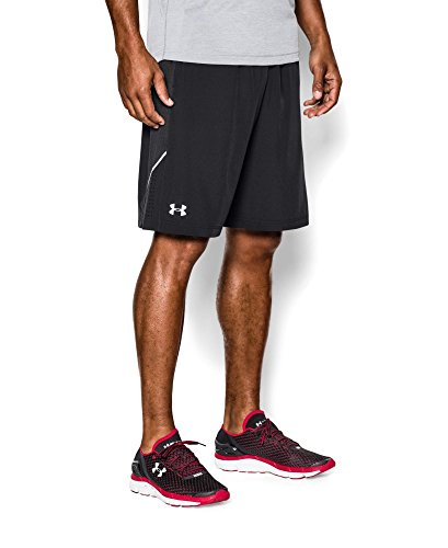 "Under Armour Men's Launch Stretch Woven 9"" Run Shorts, Black (001), XX-Large"