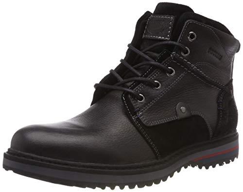 schwarz Negro 41rd004 100 By Militar Dockers Botas Gerli Para Hombre Rp4xqT