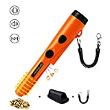 Metal Detector Pinpointer,Probe Waterproof Portable Handheld Metal Detectors Set with High Sensitivity 360°Scanning,One-button Operation GP Pin Pointer Metal Detector Tool with Buzzer and Belt Holster