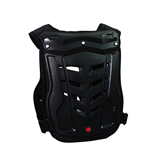 A.B Crew Motorcycle Body Armor Adult Street Bike Chest Protector Off-Road Dirt Bike Vest Protector by A.B Crew (Image #1)'