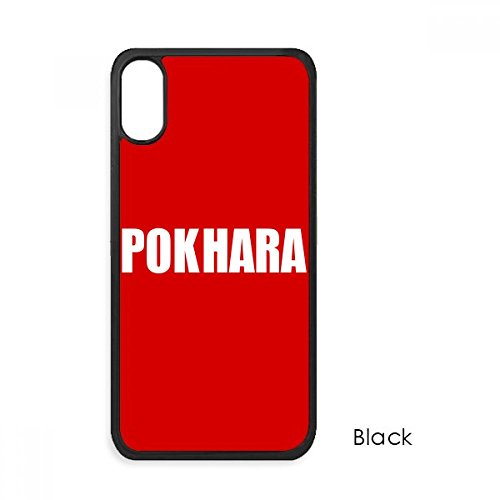 Pokhara Nepal City Name iPhone Xs Max Cases iPhonecase Cover Apple Red  Phone Case