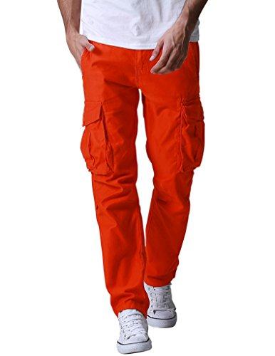 Match Men's Wild Cargo Pants(38,6540 Orange)