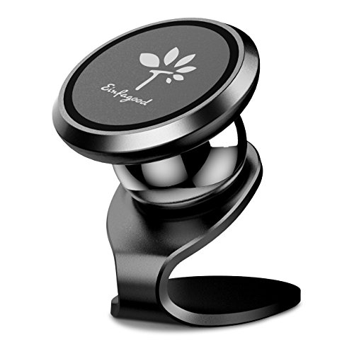 Price comparison product image Cell Phone Holder for Car Magnetic, GPS Dash Mount, EINFAGOOD Reusable Strong Magic Sticky Base GPS Holder, Clever Grip Smartphone Car Mount for iPhone X / 10/8 Galaxy S8 / S7 Nexus 7 and more