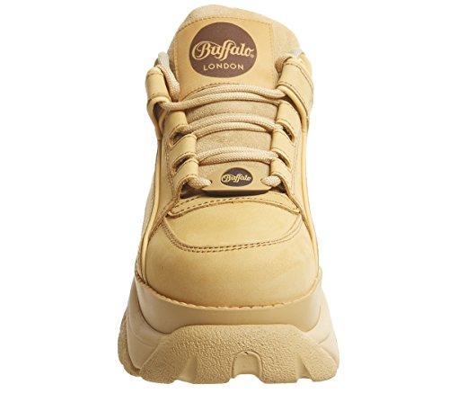 Zapatos Mujer 0 Tostado Negro 2 Buffalo 1339 14 qIxt1nXF