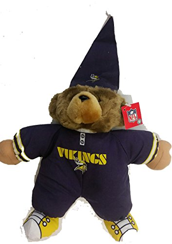 (The Good Stuff NFL Minnesota Vikings Pajama Teddy Bear, NEW)