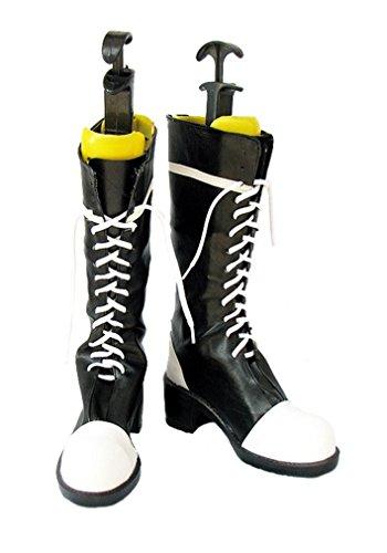 Bromeo Black Butler Kuroshitsuji Ciel Cosplay Schuhe Stiefel Stiefeletten