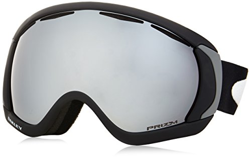 Oakley Canopy Ski Goggles, Matte Black/Prizm Black - Men Sunglasses For Goggles Ski