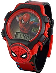"Marvel Spiderman Kid's Digital""THWIP"" Watch w/Light Up Face & Icon"