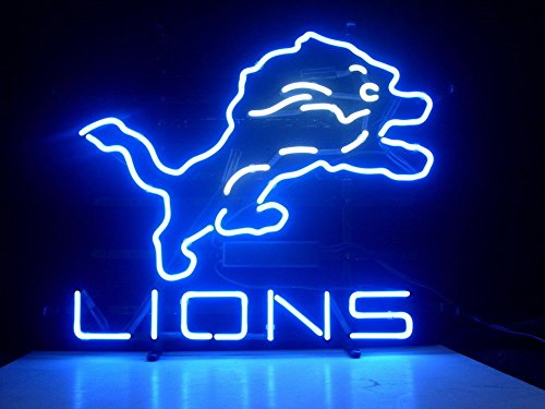 Detroit Lions Neon Sign (Urby® 24